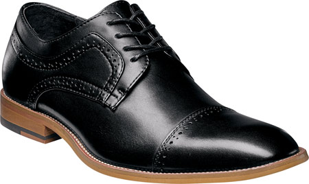 CAP TOE ANTIQUE LEATHER FULLY CUSHIONED MEMORY FOAM
