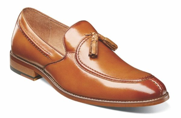 MOC TOE DROP TASSEL SMOOTH LEATHER FULLY CUSHIONED FOOT BED WITH MEMORY FOAM PG 6