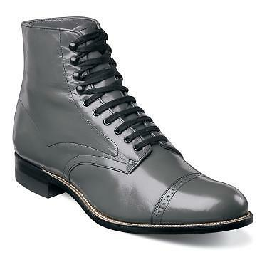 CAP TOE BOOT KID SKIN LEATHER WELT CONSTRUCTION